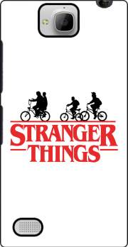 Stranger Things by bike Case for Huawei Honor 3C