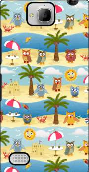 summer owls Huawei Honor 3C Case