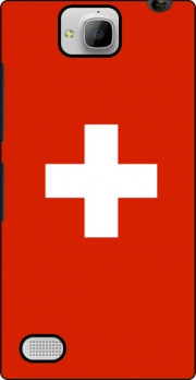 Switzerland Flag Case for Huawei Honor 3C