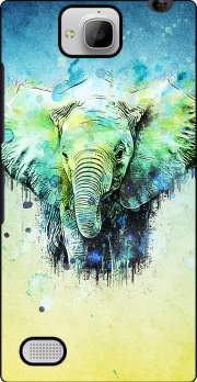 watercolor elephant Huawei Honor 3C Case