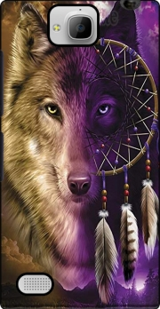 Wolf Dreamcatcher Huawei Honor 3C Case