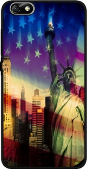 Statue of Liberty Case for Huawei Honor 4x