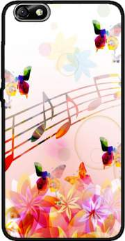 Musical Notes Butterflies Case for Huawei Honor 4x