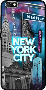 New York City II [blue] Case for Huawei Honor 4x