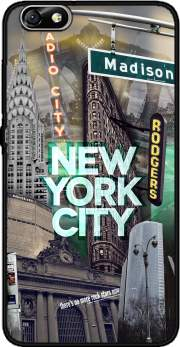 New York City II [green] Case for Huawei Honor 4x