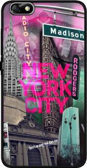 New York City II [pink] Case for Huawei Honor 4x