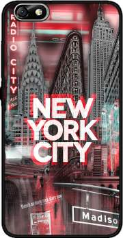 New York City II [red] Case for Huawei Honor 4x