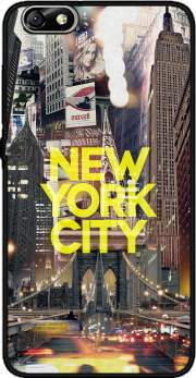 New York City II [yellow] Case for Huawei Honor 4x