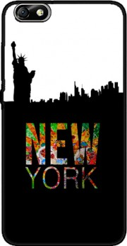 New York Case for Huawei Honor 4x