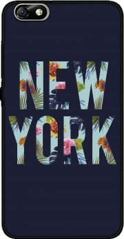 New York Floral Case for Huawei Honor 4x