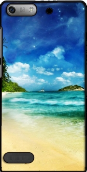 Paradise Island Case for Huawei Ascend P6 Mini