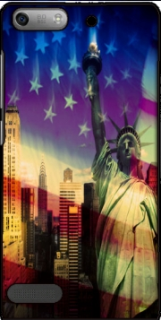 Statue of Liberty Case for Huawei Ascend P6 Mini
