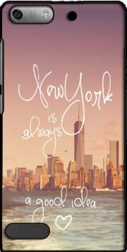 Always New York Case for Huawei Ascend P6 Mini