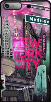 New York City II [pink] Case for Huawei Ascend P6 Mini