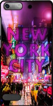 New York City - Broadway Color Case for Huawei Ascend P6 Mini