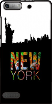 New York Case for Huawei Ascend P6 Mini