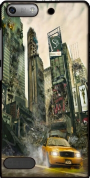 New York apocalyptic Case for Huawei Ascend P6 Mini