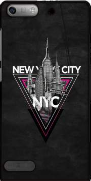NYC V [pink] Case for Huawei Ascend P6 Mini