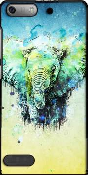 watercolor elephant Case for Huawei Ascend P6 Mini
