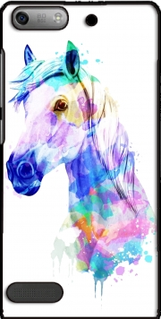 watercolor horse Case for Huawei Ascend P6 Mini