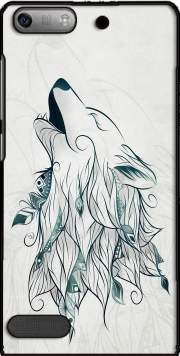Wolf  Case for Huawei Ascend P6 Mini