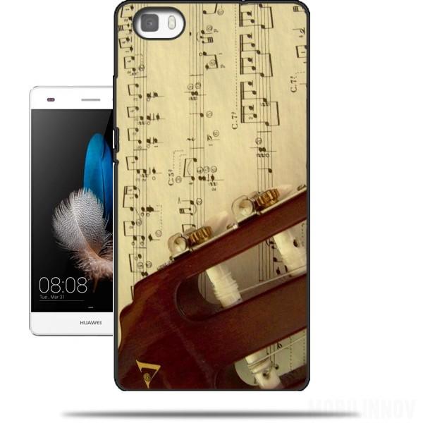 coque huawei p9 lite music