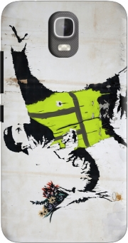 Bansky Yellow Vests Case for Huawei Y3 Y360
