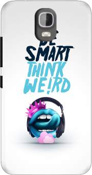 Be Smart Think Weird 2 Case for Huawei Y3 Y360