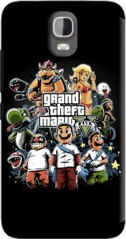 Grand Theft Mario Case for Huawei Y3 Y360