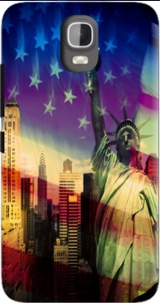 Statue of Liberty Case for Huawei Y3 Y360