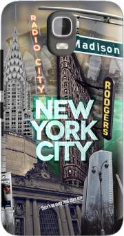 New York City II [green] Case for Huawei Y3 Y360