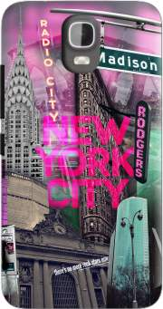 New York City II [pink] Case for Huawei Y3 Y360