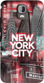 New York City II [red] Case for Huawei Y3 Y360