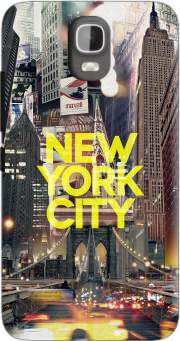 New York City II [yellow] Case for Huawei Y3 Y360