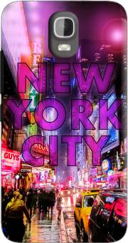 New York City - Broadway Color Case for Huawei Y3 Y360