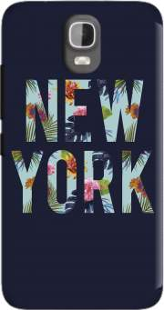 New York Floral Case for Huawei Y3 Y360
