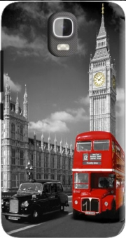 Red bus of London with Big Ben Case for Huawei Y3 Y360