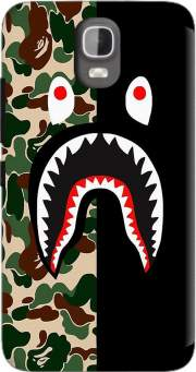 Shark Bape Camo Military Bicolor Case for Huawei Y3 Y360