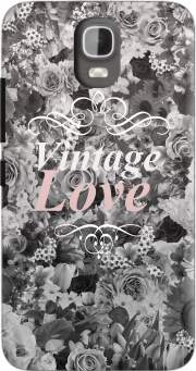 Vintage love in black and white Case for Huawei Y3 Y360