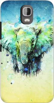 watercolor elephant Case for Huawei Y3 Y360