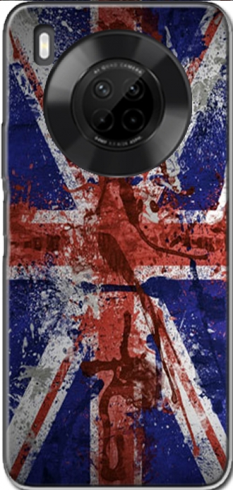 Case Huawei Y9a with pictures flag