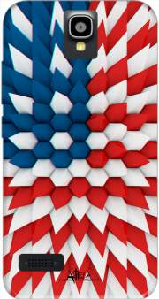 3D Poly USA flag Case for Huawei Y5 Y560