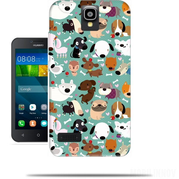 Case Dogs for Huawei Y5 Y560