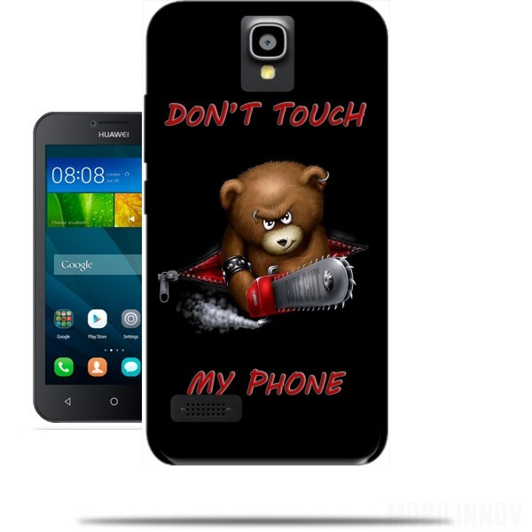 Case Don't touch my phone for Huawei Y5 Y560