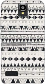 Ethnic Candy Tribal in Black and White Case for Huawei Y5 Y560