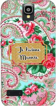 Floral Old Tissue - Je t'aime Mamie Huawei Y5 Y560 Case