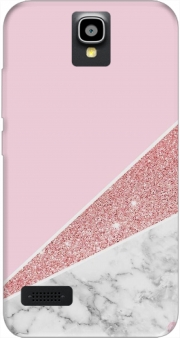 Initiale Marble and Glitter Pink Huawei Y5 Y560 Case