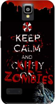 Keep Calm And Kill Zombies Case for Huawei Y5 Y560