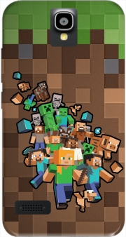 Minecraft Creeper Forest Case for Huawei Y5 Y560