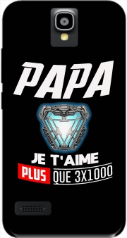 Papa je taime plus que 3x1000 Case for Huawei Y5 Y560